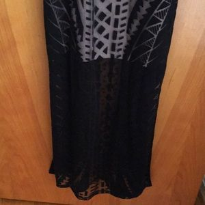 Mossimo Supply Co. Dresses - Mossimo Black dress with tan insert size small
